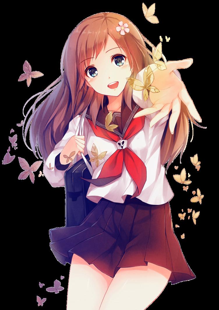 Download Free Anime Girl Transparent ICON favicon  FreePNGImg
