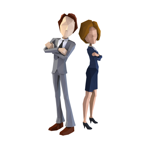 Standing Behavior Business Businessperson Human Animation PNG Image