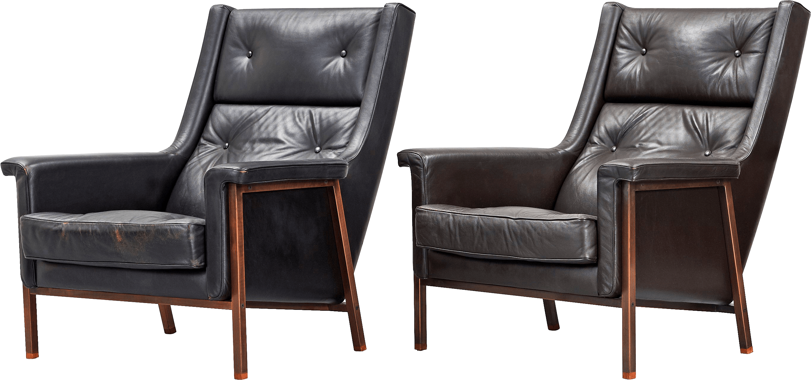 Black Armchairs Png Image PNG Image
