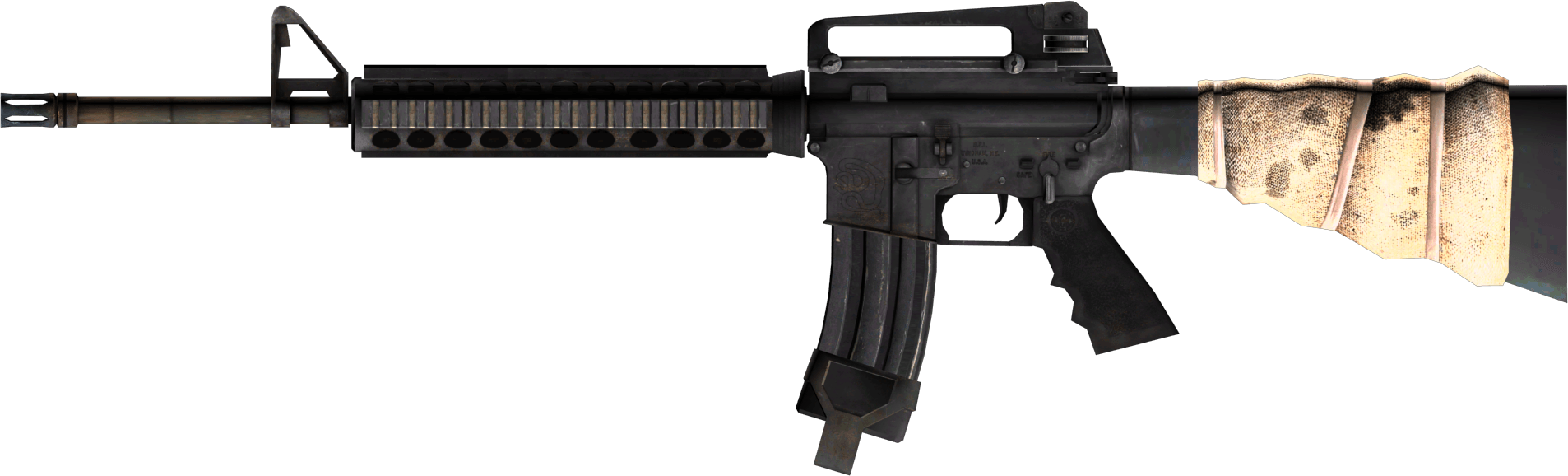 M16 Usa Assault Rifle Png PNG Image
