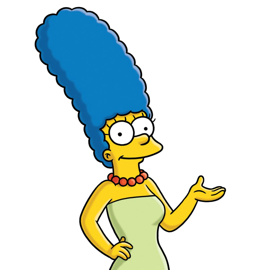 Homer Bart Area Marge Wing Simpson PNG Image