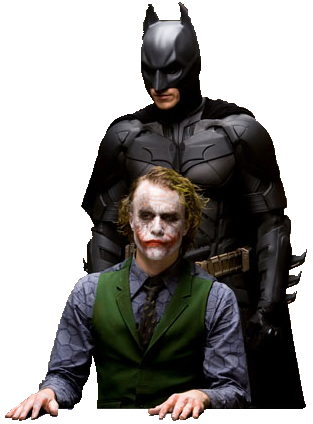 Batman Joker And Batman Png PNG Image
