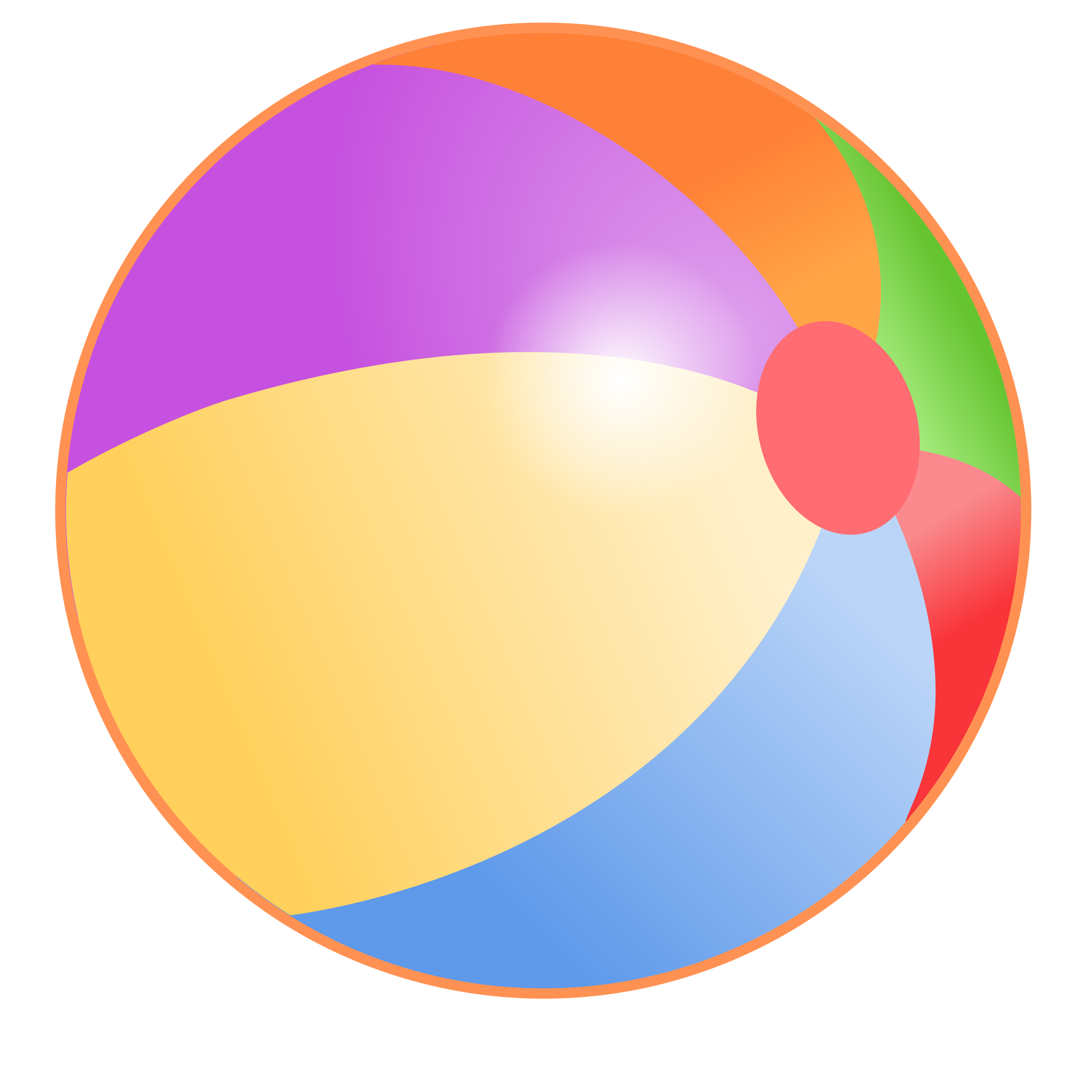 beach ball scratch