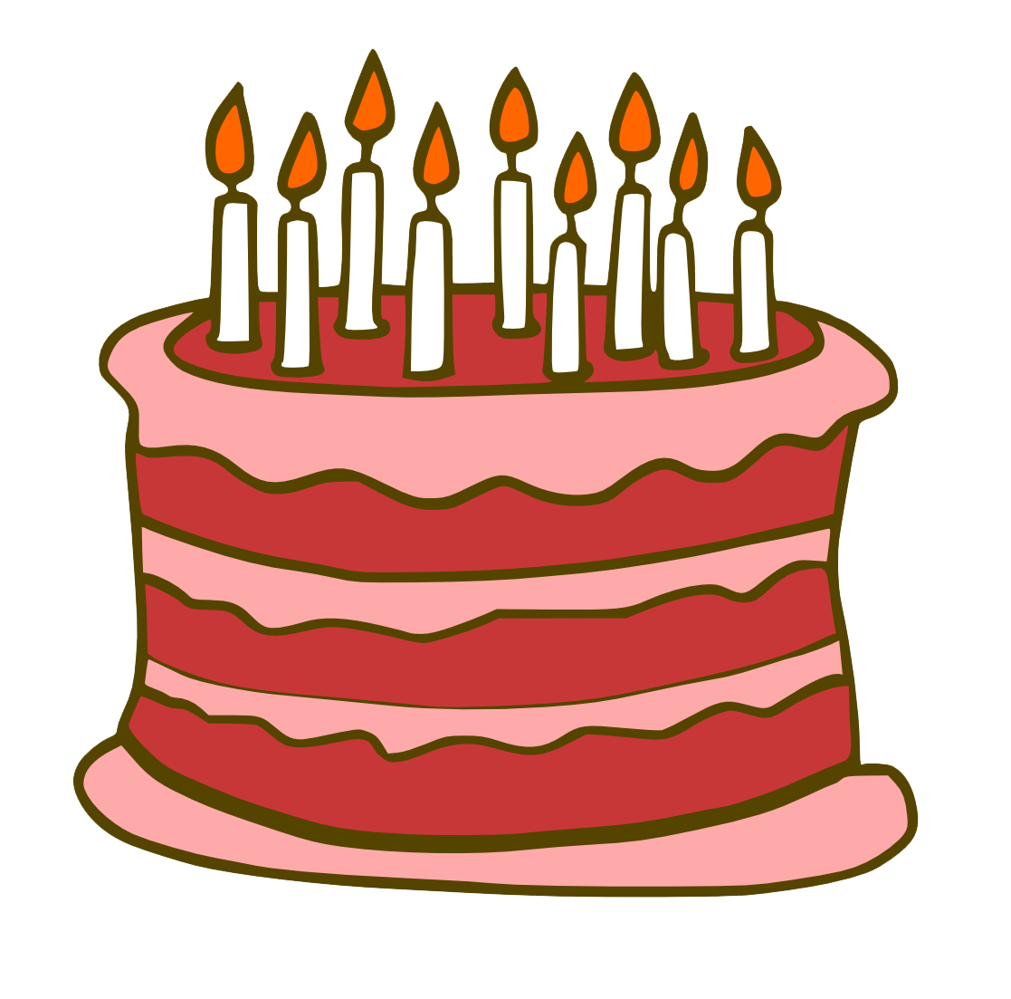 Download Birthday Cake Free Download Png HQ PNG Image