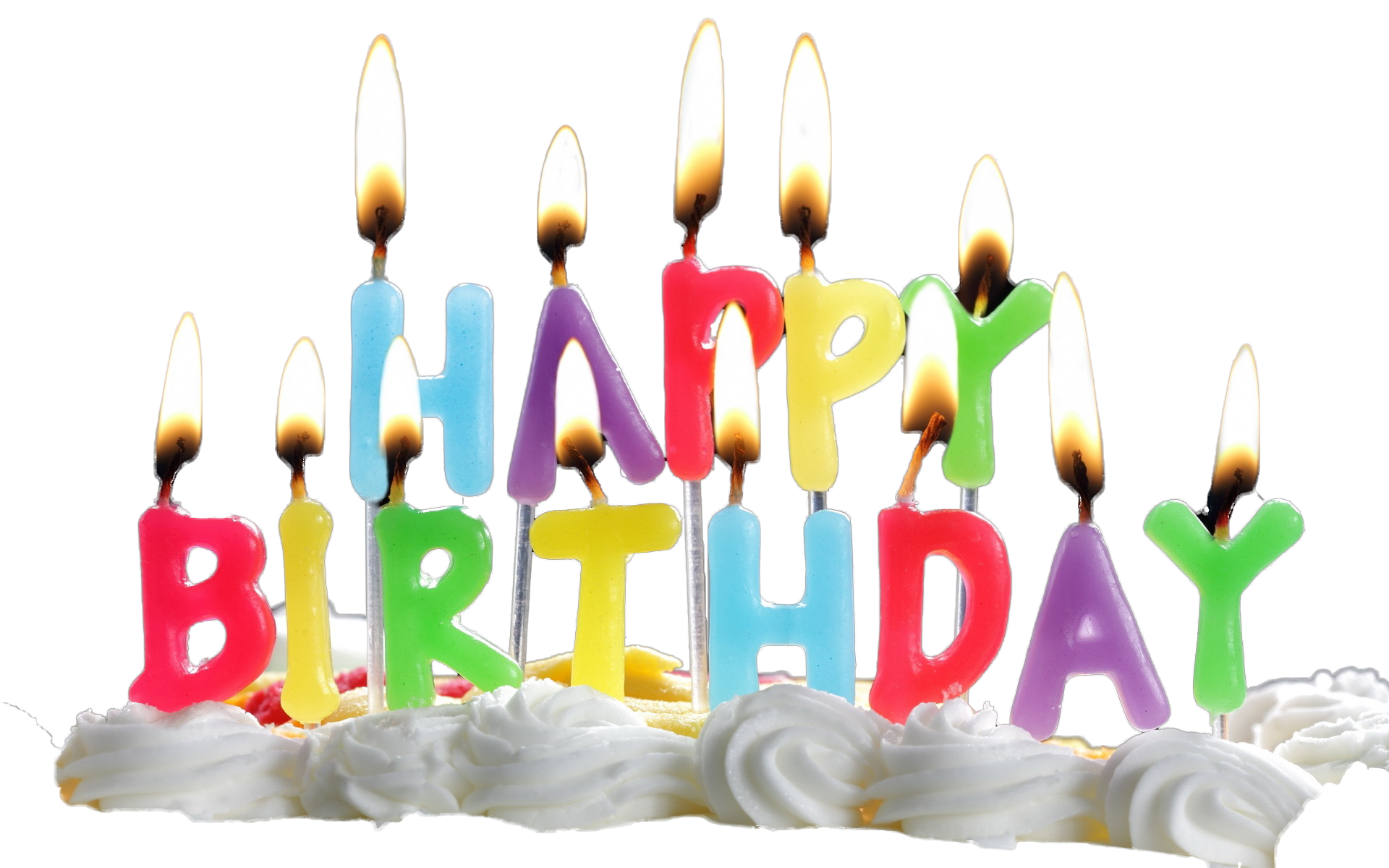 Download Birthday Candles Transparent HQ PNG Image ...