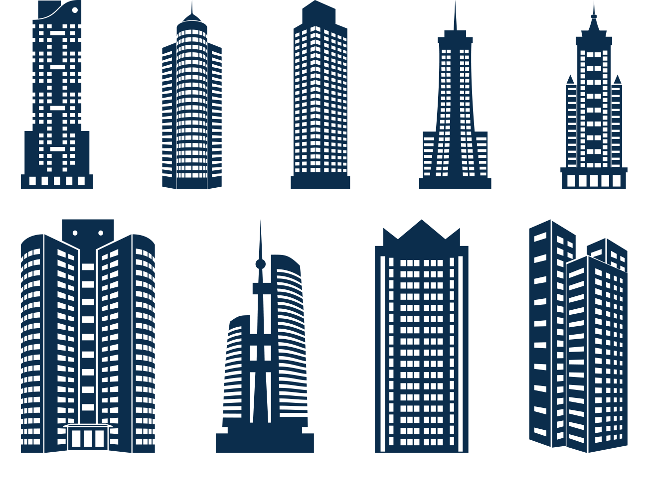 Building Skyline Icon Skyscraper Skyscrapers PNG File HD PNG Image
