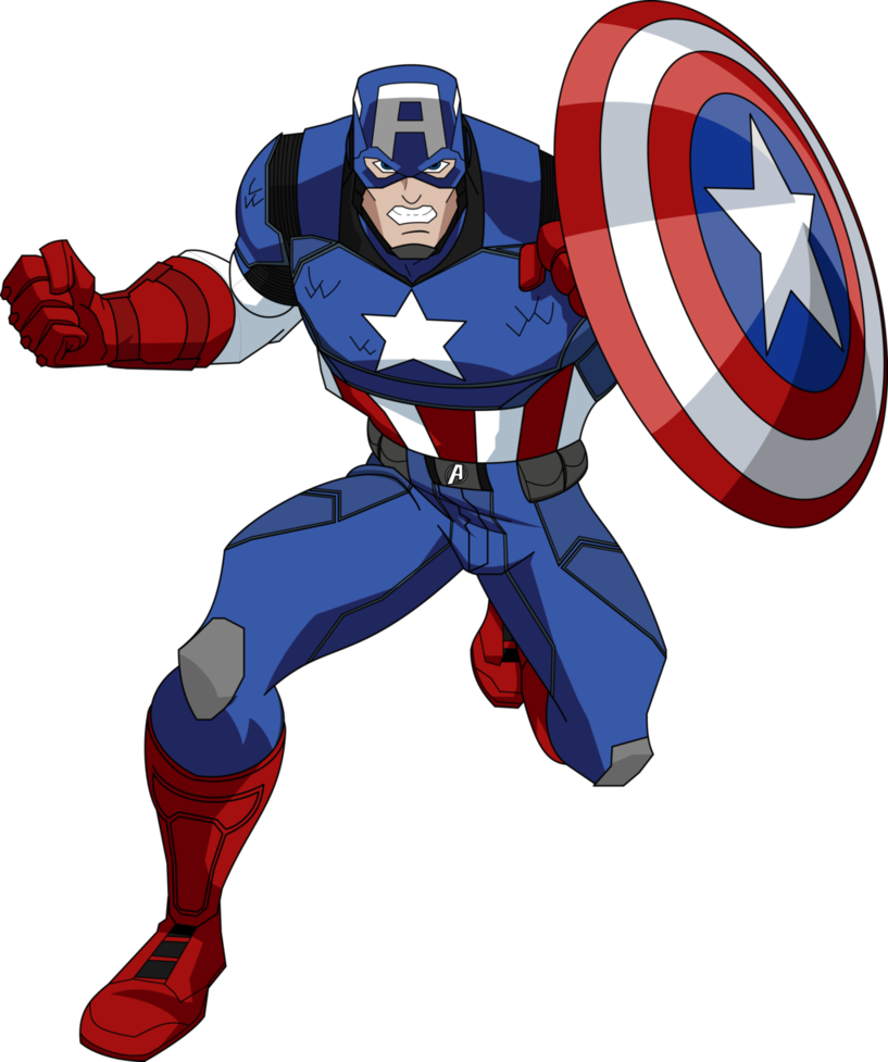 Captain America Image PNG Image