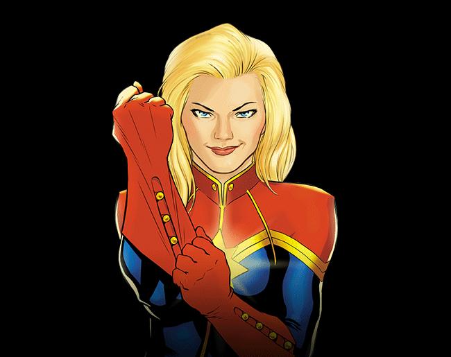 Download Free Captain Marvel File ICON favicon | FreePNGImg