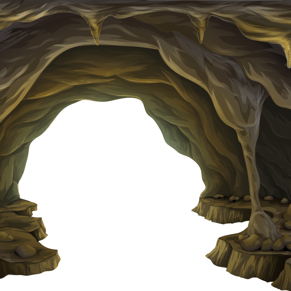 Layers Shutterstock Cave Formation PNG File HD PNG Image
