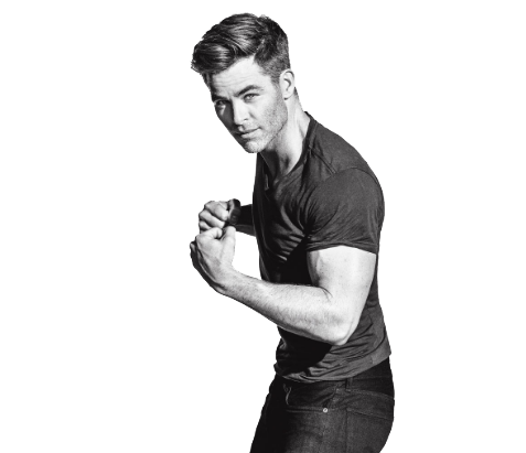 Chris Pine Transparent Image PNG Image