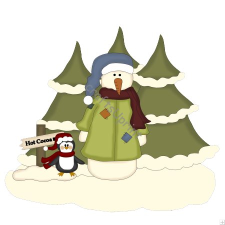 Christmas Scenes File PNG Image