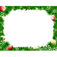 Christmas Border Free Download PNG Image