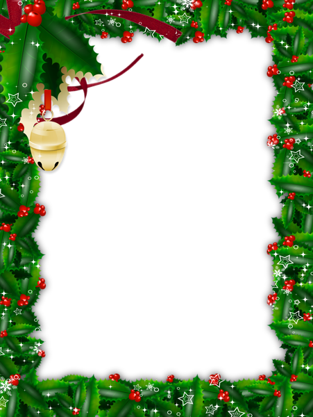 Download Christmas Frame Hd HQ PNG Image in different ...