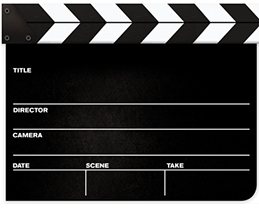 Clapperboard Free Download Png PNG Image