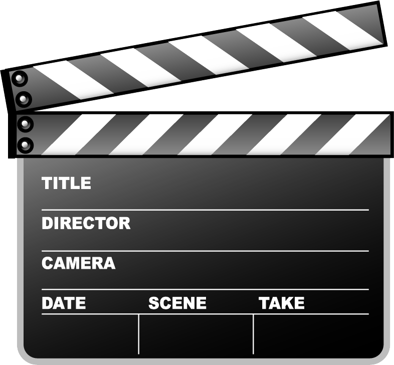 Clapperboard Png Picture PNG Image