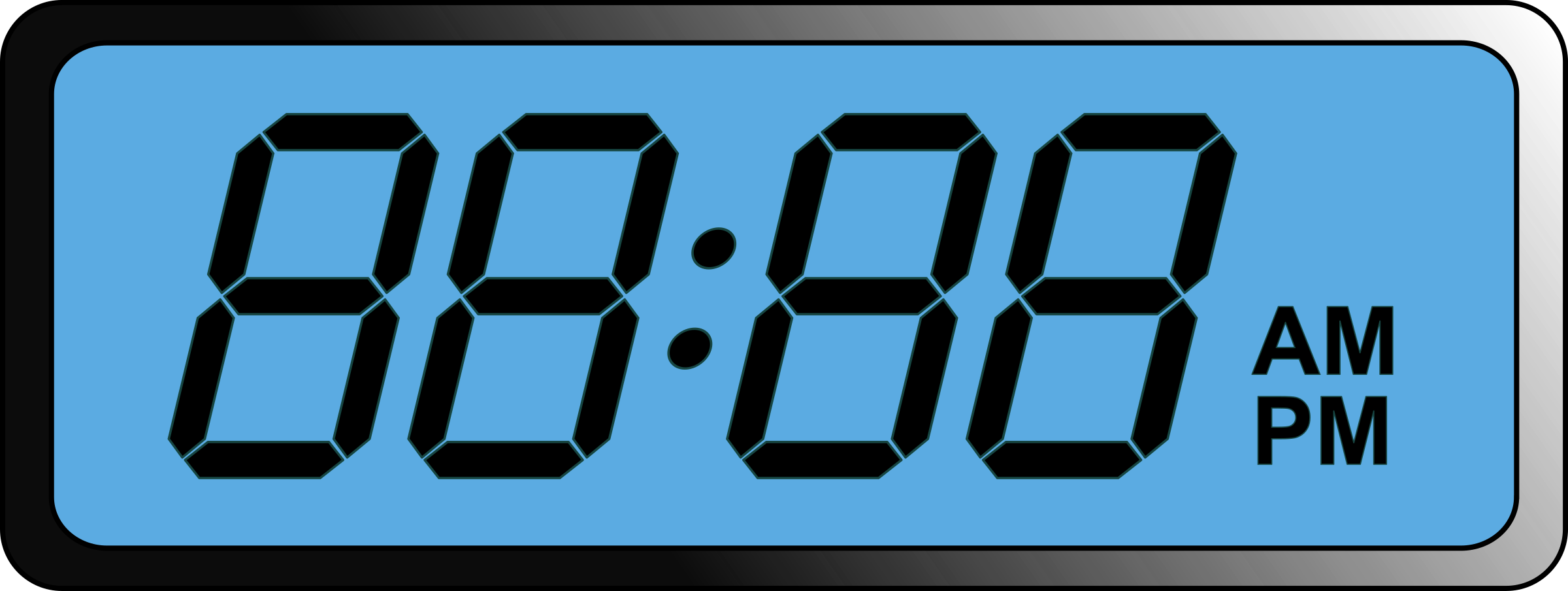 Download Digital Clock File HQ PNG Image in different resolution