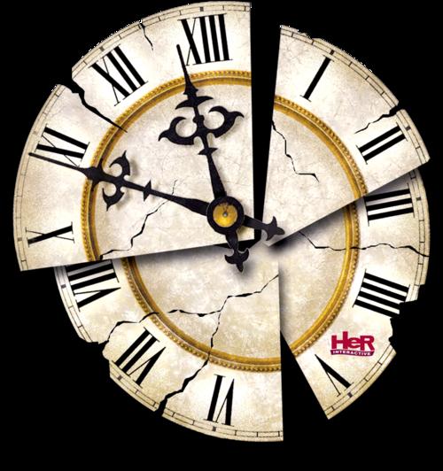 Download Vintage Clock Transparent HQ PNG Image