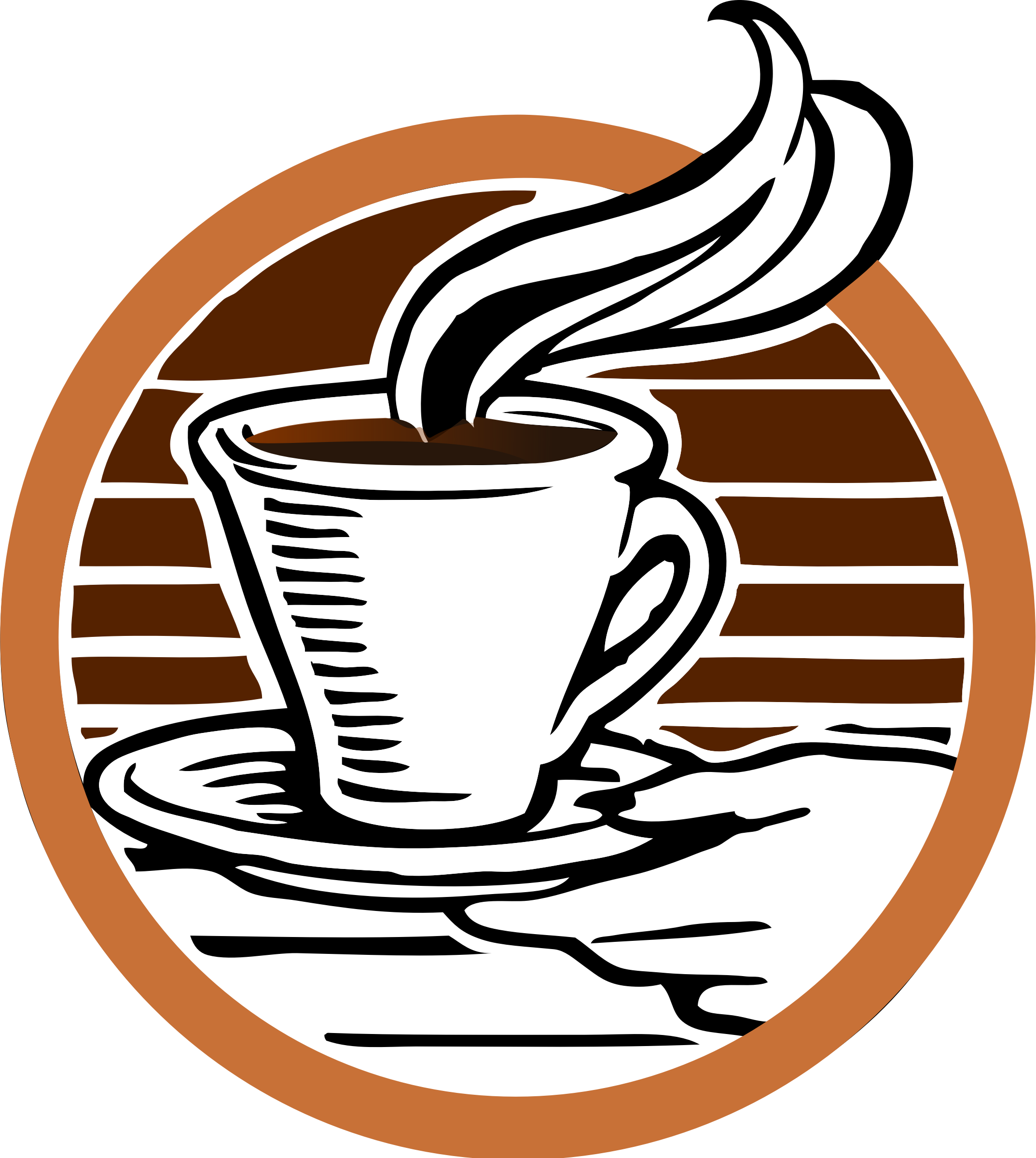 Coffee Logo Transparent Background PNG Image