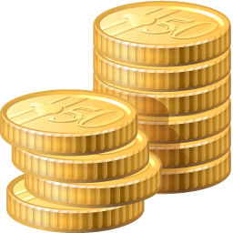 Coins Transparent PNG Image