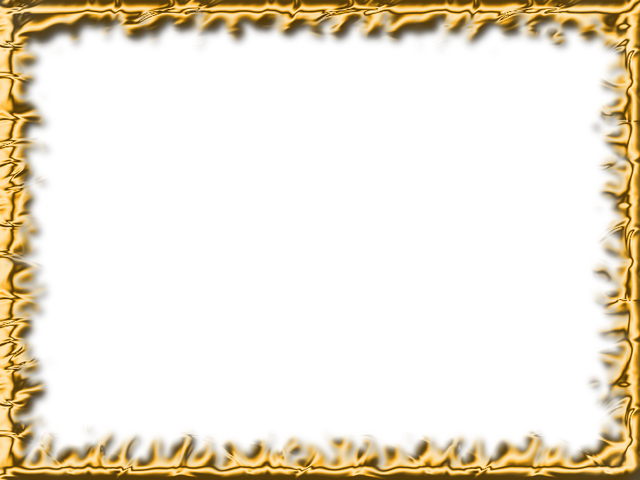 Download gold frame png hq png image freepngimg for Free geofilter templates