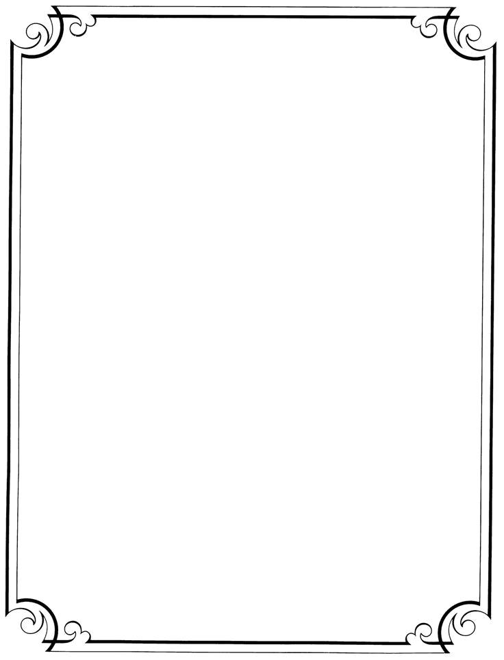 Download Vintage Border Frame File Hq Png Image In