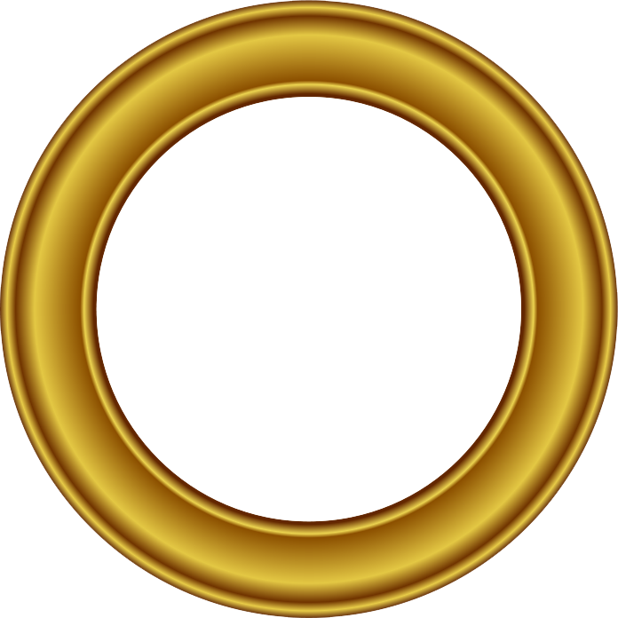 Download Golden Round Frame Free Download HQ PNG Image ...