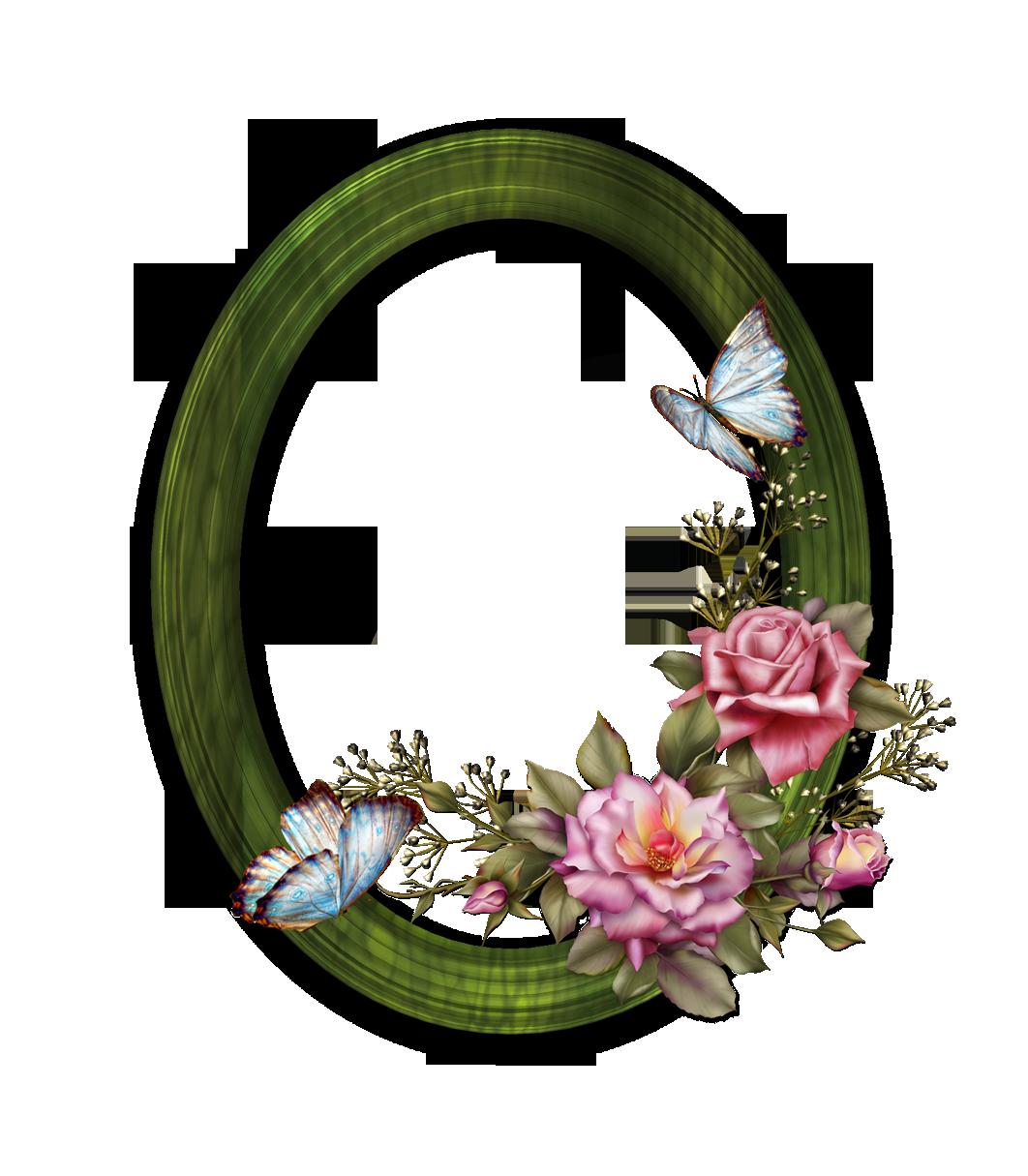 Download Floral Round Frame Transparent HQ PNG Image ...