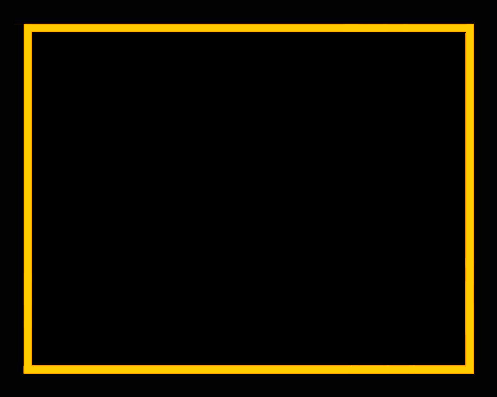 Download Free Yellow Border Frame Transparent ICON favicon ...