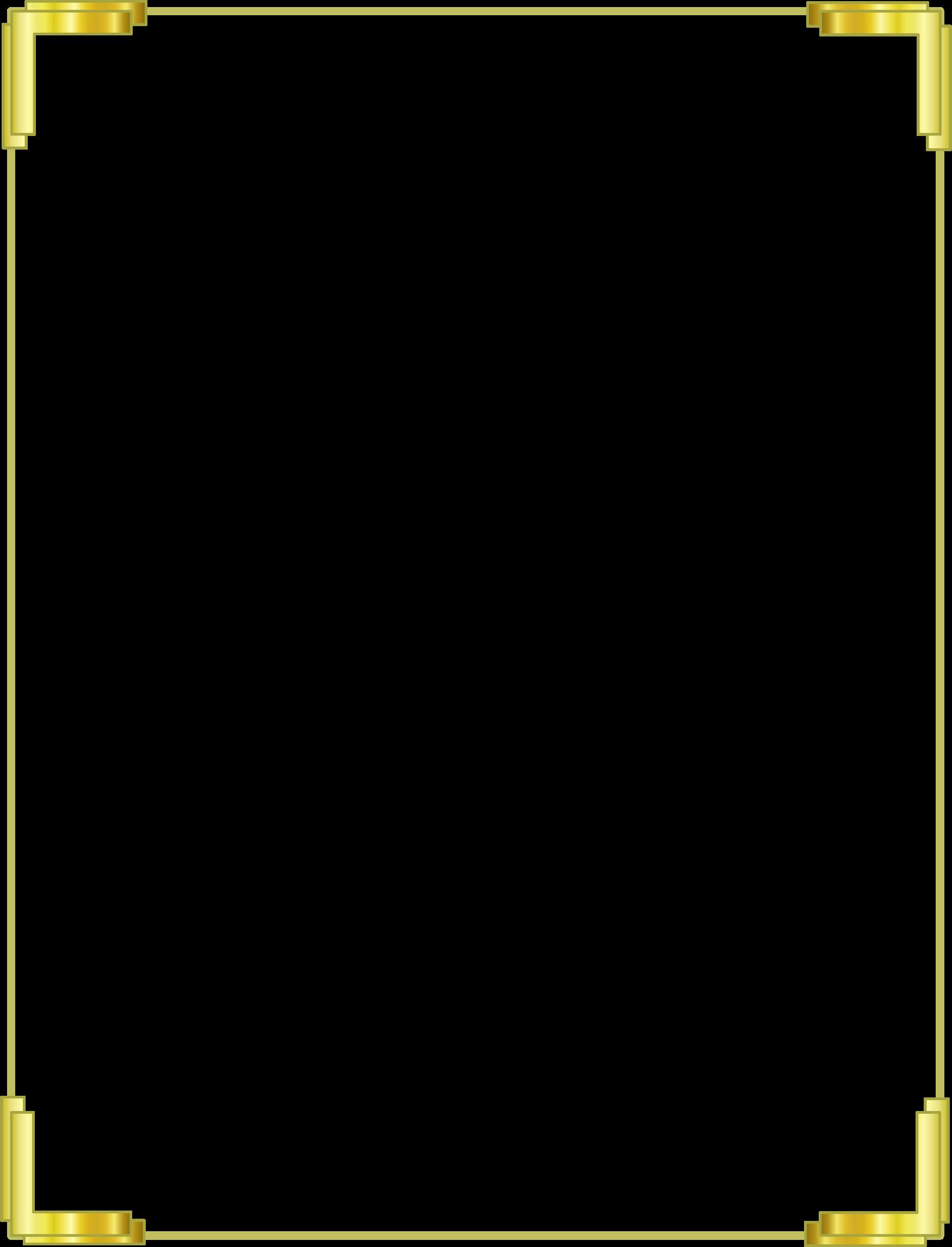 download gold border frame free download hq png image scroll border clipart for macs scroll frame clip art
