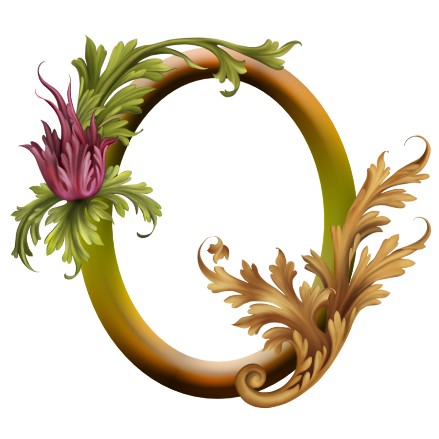 Gold Flower Border Design Png