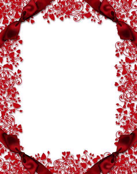 download red flower frame clipart hq png image freepngimg