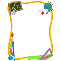 School Border Download HD PNG PNG Image