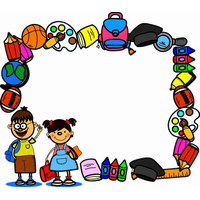 School Border HQ Image Free PNG PNG Image