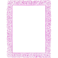 Girly Border Download Free Photo PNG PNG Image