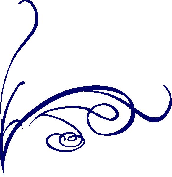 Decorative Line Blue Png PNG Image