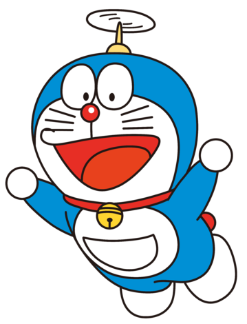 Doraemon Transparent Bamboo Frame Clip Art