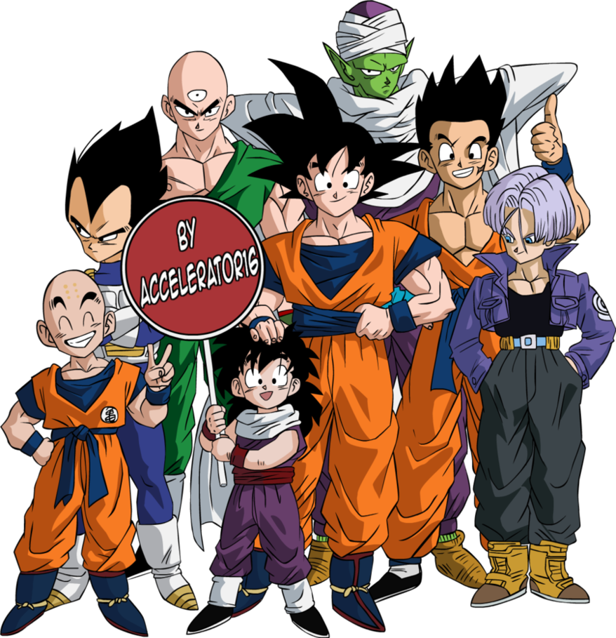 Download Dragon Ball Z Characters Photos HQ PNG Image ...