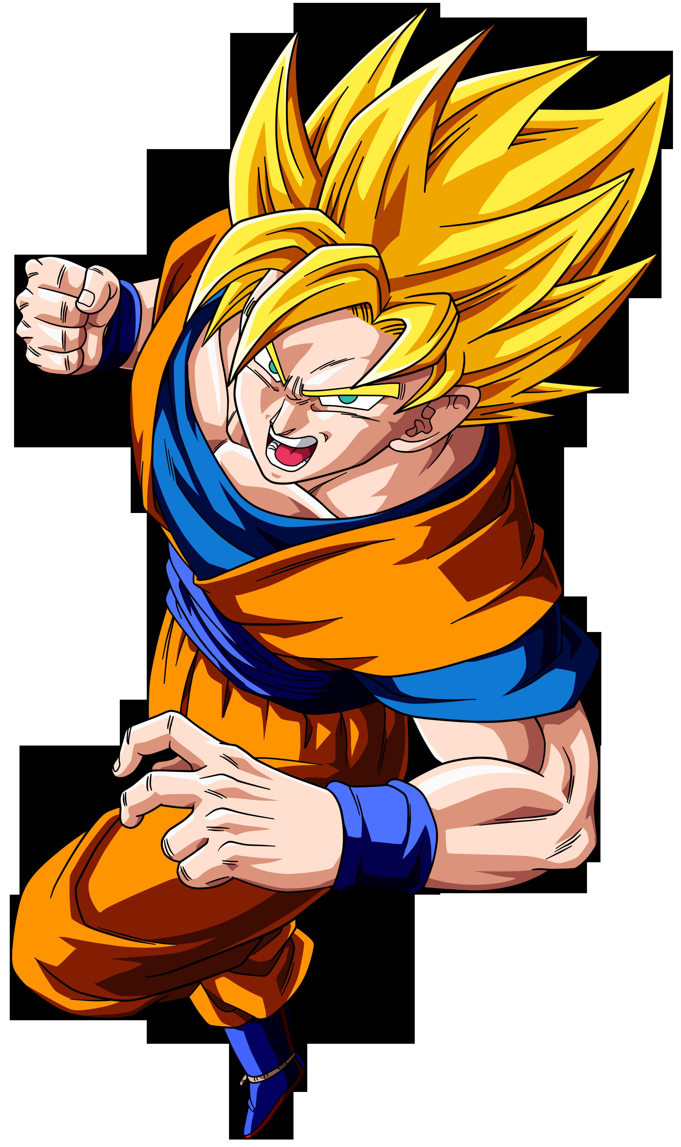 Download Dragon Ball Goku Clipart HQ PNG Image | FreePNGImg