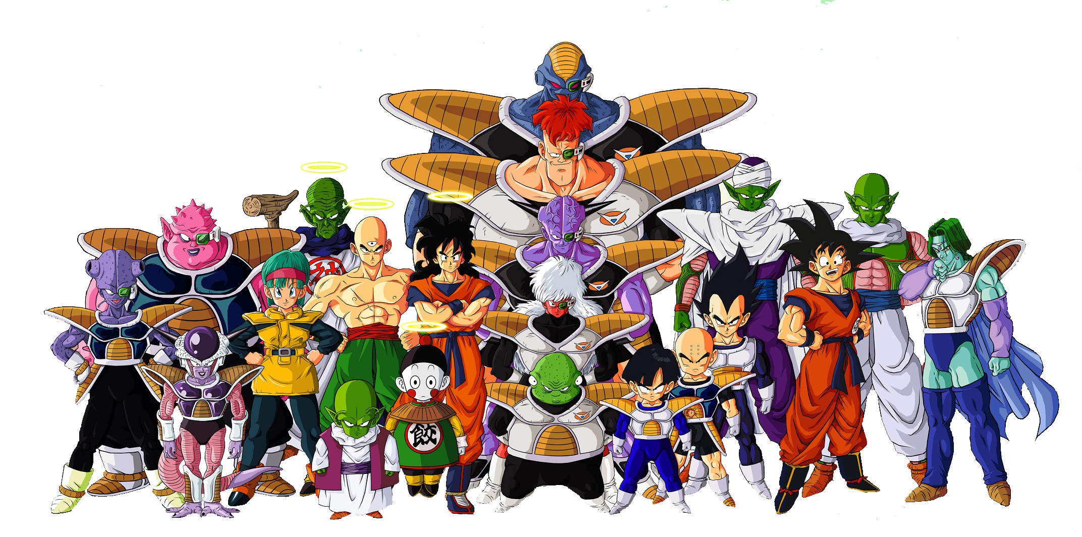 Download Dragon Ball Z Characters File HQ PNG Image ...
