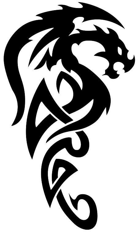 Dragon Tattoos Png Pic PNG Image