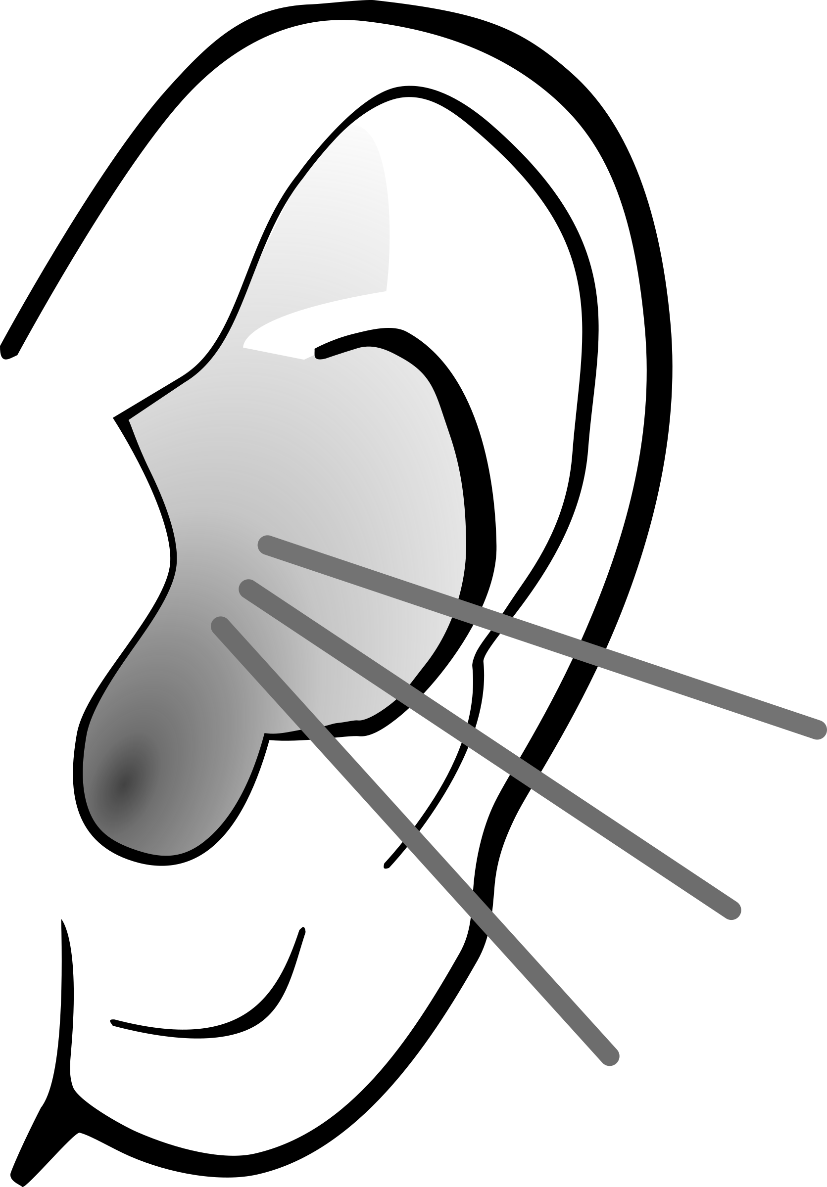 Listening Ear Image PNG Image