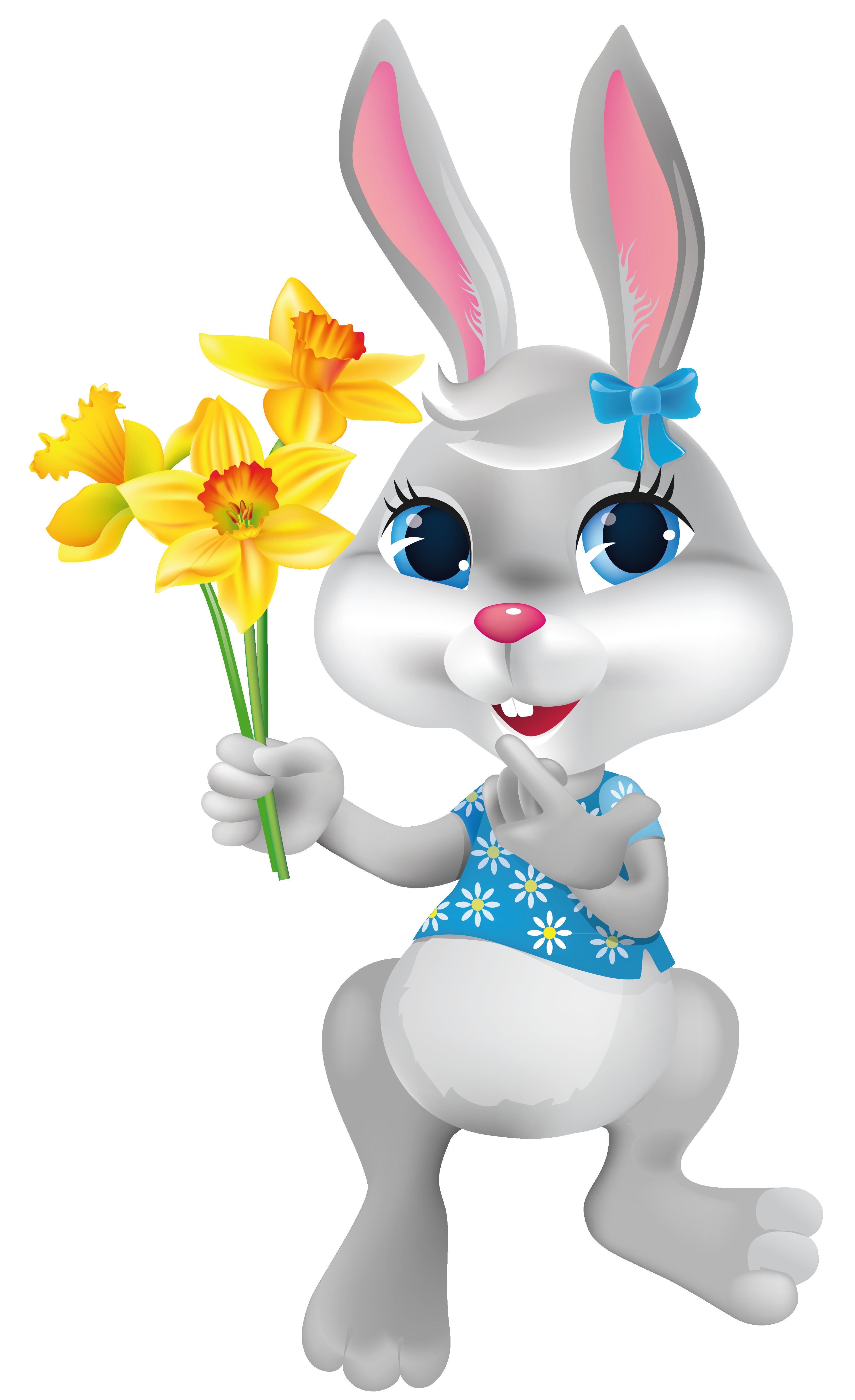 Download Easter Bunny Transparent HQ PNG Image   FreePNGImg