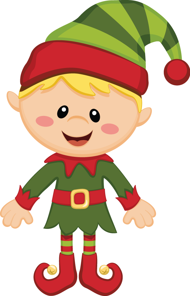 Claus Duende Elf Christmas Santa Free Transparent Image HD PNG Image