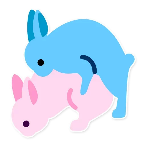 Emoticon Smiley Domestic Rabbit Whatsapp Emoji PNG Image