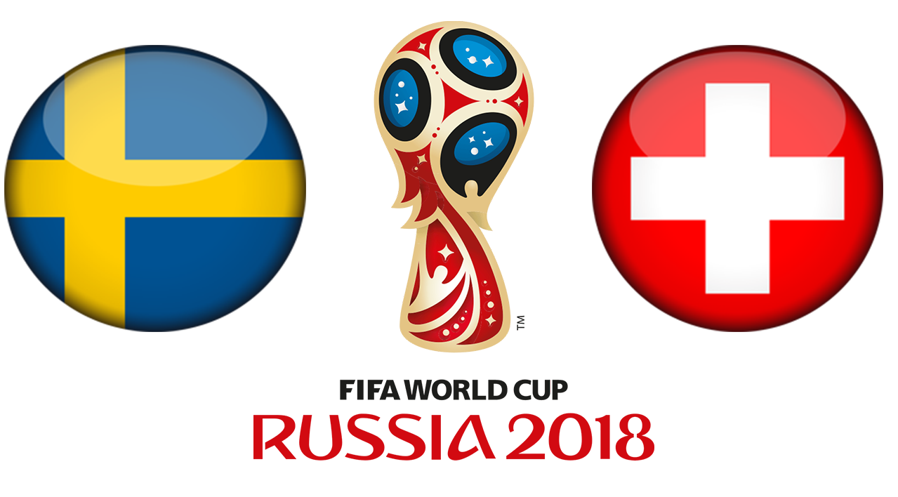 Fifa World Cup 2018 Sweden Vs Switzerland PNG Image