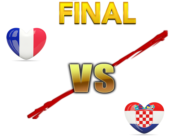 Fifa World Cup 2018 Final Match France PNG Image