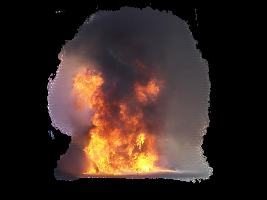 Download PNG Image   Fire Smoke Transparent Image 555