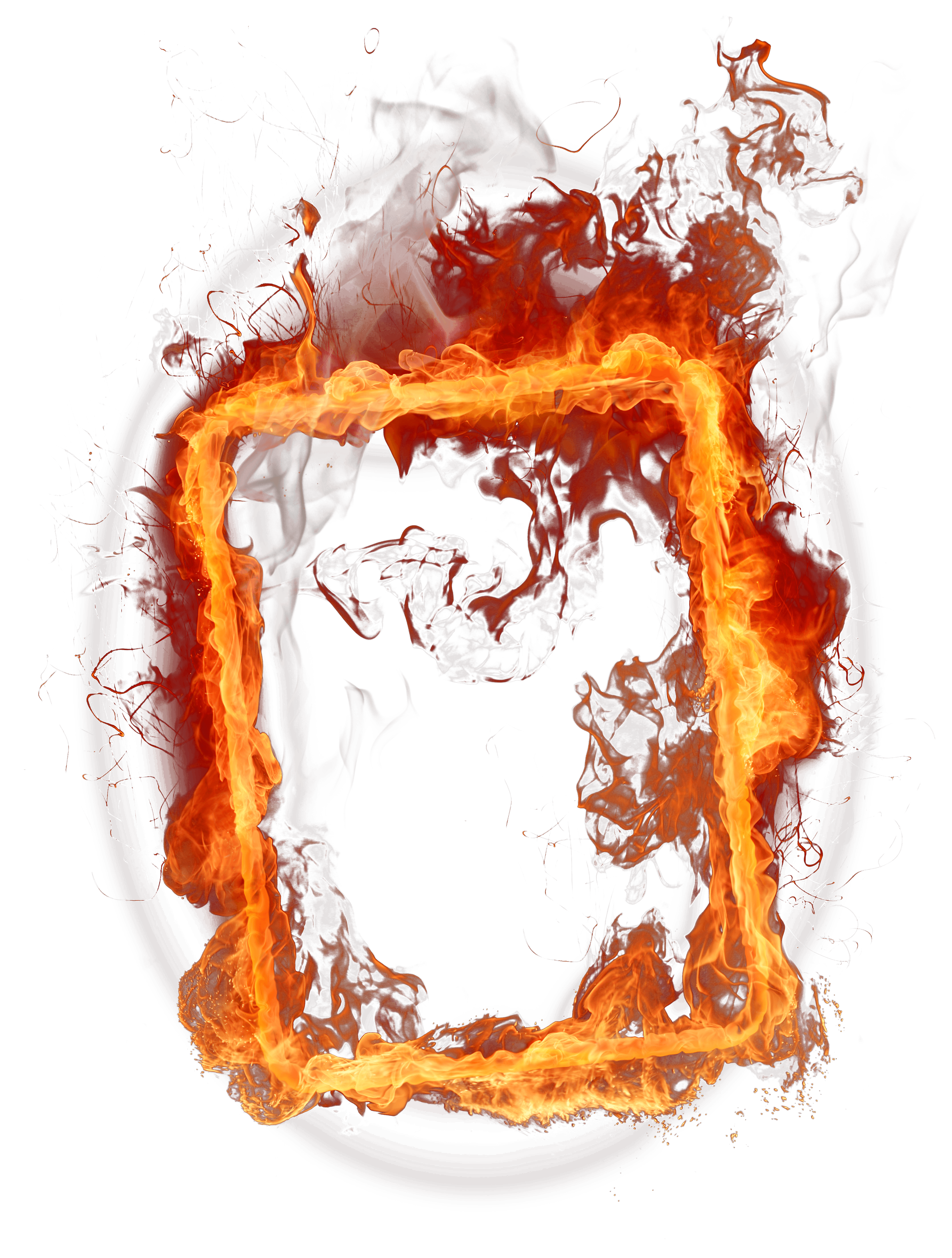 Fire Frame Png Image PNG Image