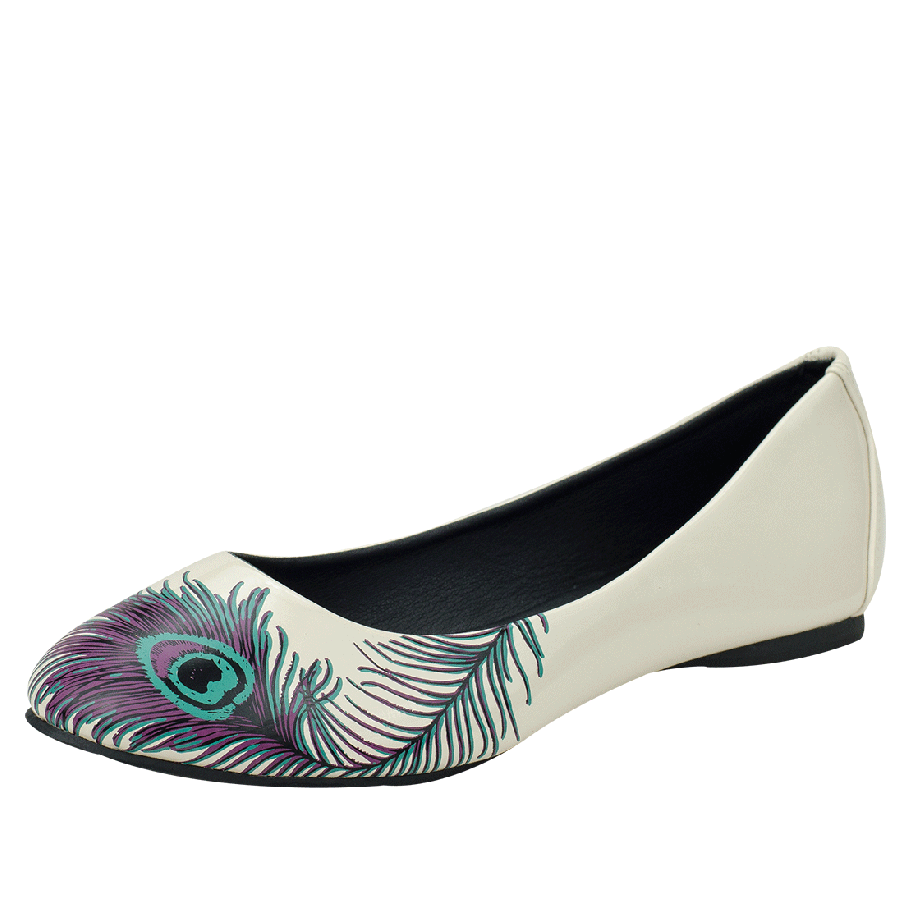 Cat Flat Shoes From I Am I
