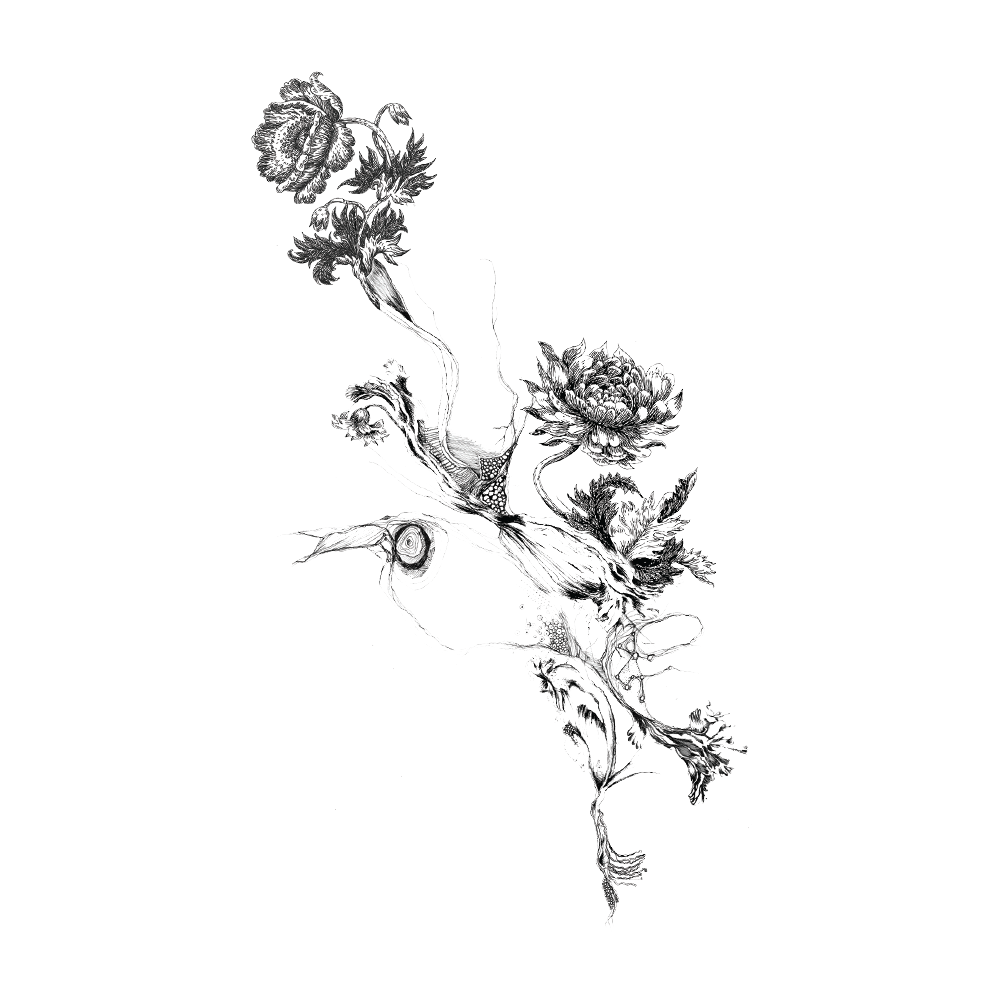 Download Flower Tattoo Png Picture HQ PNG Image | FreePNGImg Transparent Black And White Flowers Tumblr